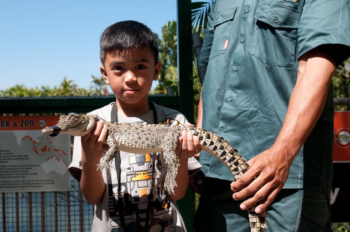 John, Crocodylus Park, Darwin, Australia